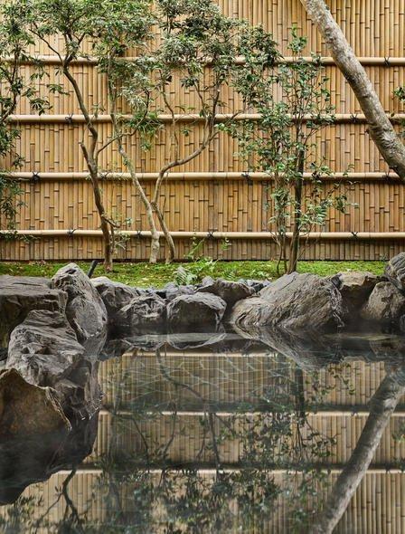 アマン京都の温泉
