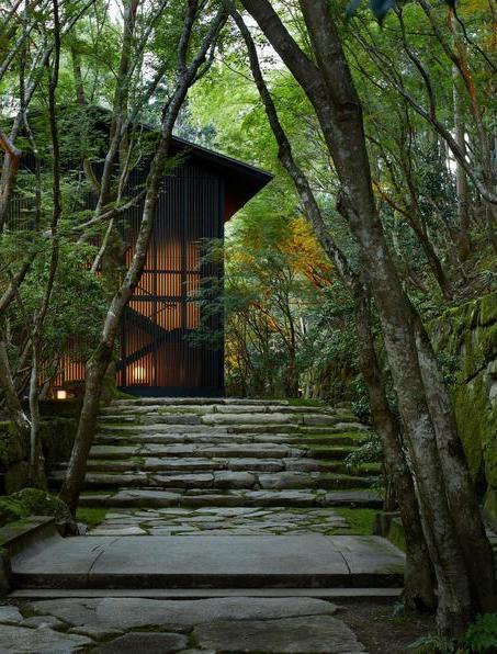 アマン京都の客室外観