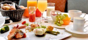 クロスホテル大阪の朝食