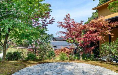 箱根翠松園の庭園